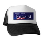 Clinton = Fascist Trucker Hat