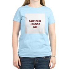 happiness is being Kali T-Shirt