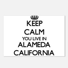 Keep calm you live in Ala Postcards (Package of 8)