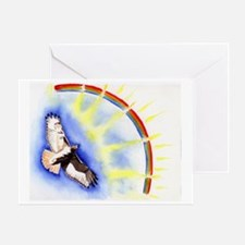 inspiration hawk Greeting Card