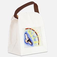 inspiration hawk Canvas Lunch Bag