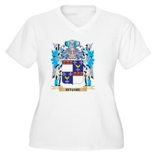 Ritchie Coat of Arms - Family Cr Plus Size T-Shirt