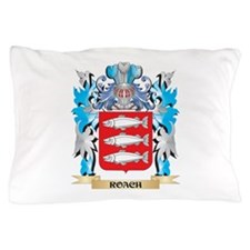 Roach Coat of Arms - Family Crest Pillow Case