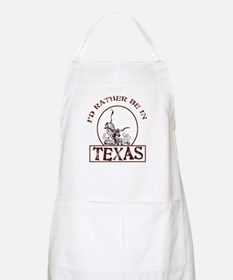 Rather be in Texas BBQ Apron