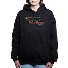Fake Sorry Women's Hooded Sweatshirt