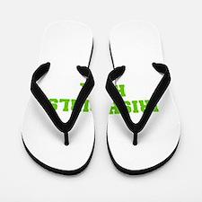Irish Girls Rock-Fre l green 400 Flip Flops