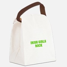 Irish Girls Rock-Fre l green 400 Canvas Lunch Bag