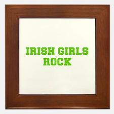 Irish Girls Rock-Fre l green 400 Framed Tile