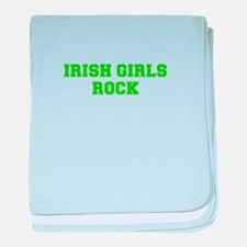 Irish Girls Rock-Fre l green 400 baby blanket