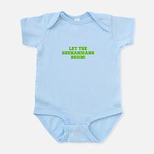 Let the Shenanigans begin-Fre l green Body Suit