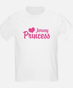 Jersey Princess Kids T-Shirt
