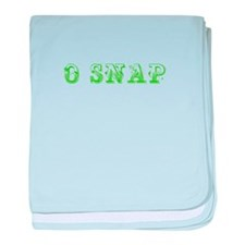 O Snap-Max l green 500 baby blanket
