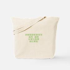 Property of an Irish girl-Kon l green 460 Tote Bag