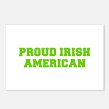Proud Irish American-Fre l green Postcards (Packag