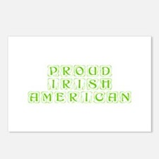 Proud Irish American-Kon l green 450 Postcards (Pa