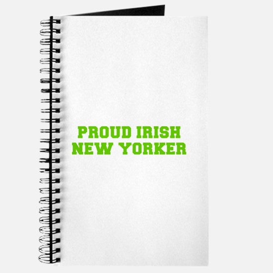 Proud Irish New Yorker-Fre l green 400 Journal