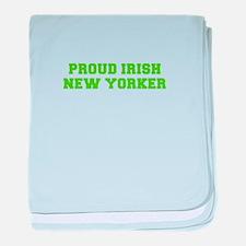 Proud Irish New Yorker-Fre l green 400 baby blanke