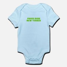 Proud Irish New Yorker-Fre l green 400 Body Suit