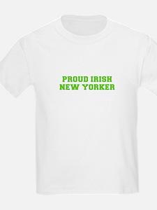 Proud Irish New Yorker-Fre l green 400 T-Shirt