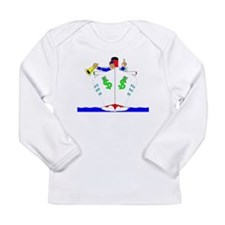Money Ship Long Sleeve T-Shirt