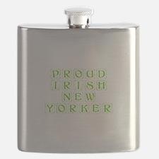 Proud Irish New Yorker-Kon l green 450 Flask