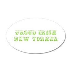 Proud Irish New Yorker-Max l green 500 Wall Decal