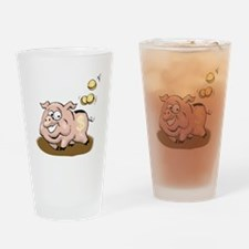 Piggy Bank Drinking Glass