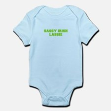 Sassy Irish Lassie-Fre l green Body Suit