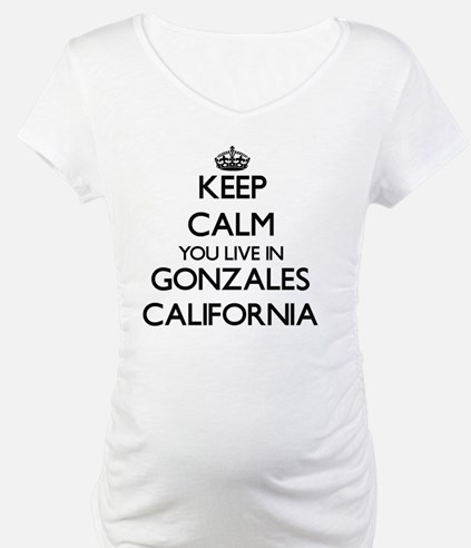 Keep calm you live in Gonzales C Shirt