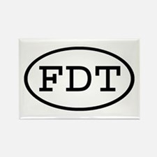 FDT Oval Rectangle Magnet