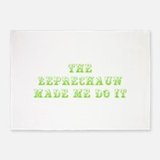The leprechaun made me do it-Max l green 500 5'x7'