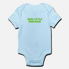 Wee little hooligan-Fre l green Body Suit