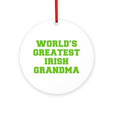 World s Greatest Irish Grandma-Fre l green 400 Orn