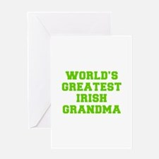 World s Greatest Irish Grandma-Fre l green 400 Gre