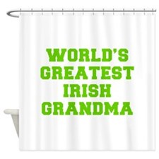 World s Greatest Irish Grandma-Fre l green 400 Sho