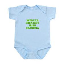 World s Greatest Irish Grandma-Fre l green 400 Bod