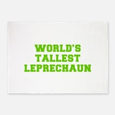 World s Tallest Leprechaun-Fre l green 5'x7'Area R