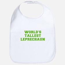 World s Tallest Leprechaun-Fre l green Bib