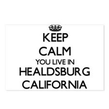 Keep calm you live in Hea Postcards (Package of 8)