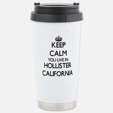 Keep calm you live in H Stainless Steel Travel Mug