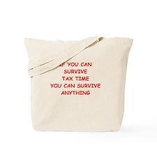 tax Tote Bag