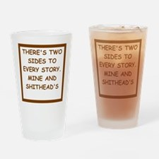 divorced Drinking Glass