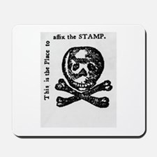 stamp act Mousepad