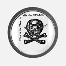 stamp act Wall Clock