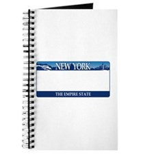 New York - The Empire State 2001 License p Journal