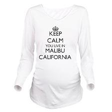 Keep calm you live i Long Sleeve Maternity T-Shirt