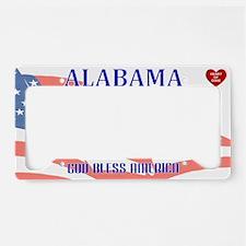 AL - God Bless America blank License Plate Holder