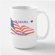 AL - God Bless America blank license plate de Mugs