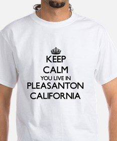 Keep calm you live in Pleasanton Californi T-Shirt