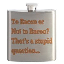 To Bacon or Not to Bacon Flask